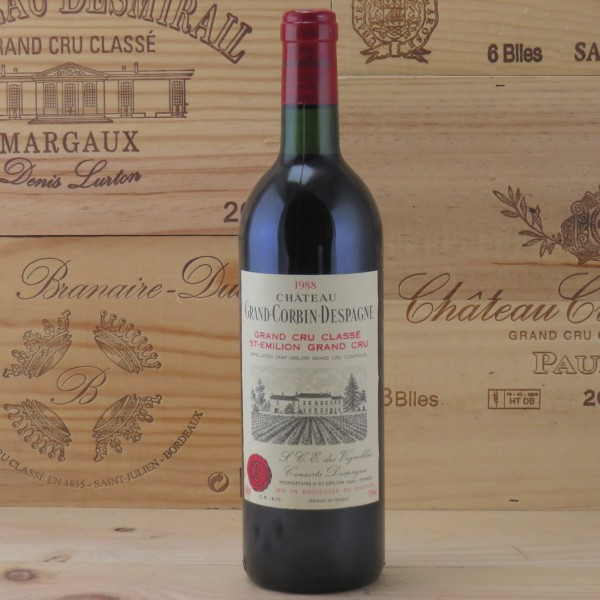1988 Chateau Grand Corbin Despagne
