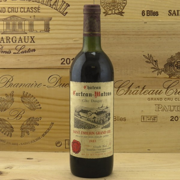 1983 Chateau Carteau Matras Cote Daugay