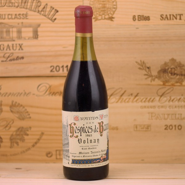 1963 Volnay Hospices de Beaune