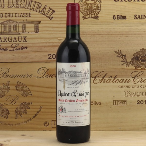 1986 Chateau Lassegue