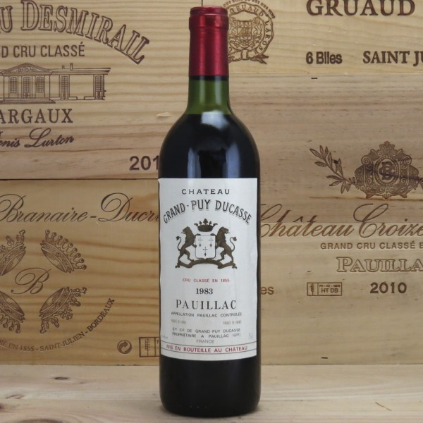 1983 Chateau Grand Puy Ducasse