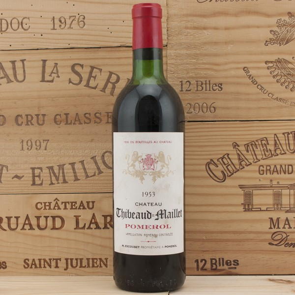 1953 Chateau Thibeaud Maillet