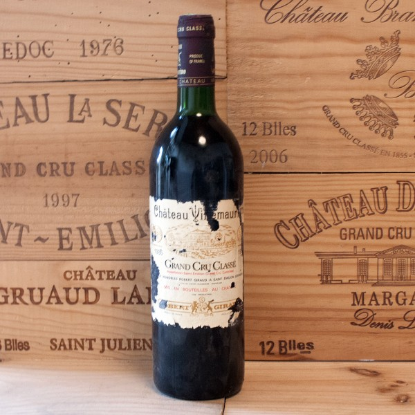 1986 Chateau Villemaurine