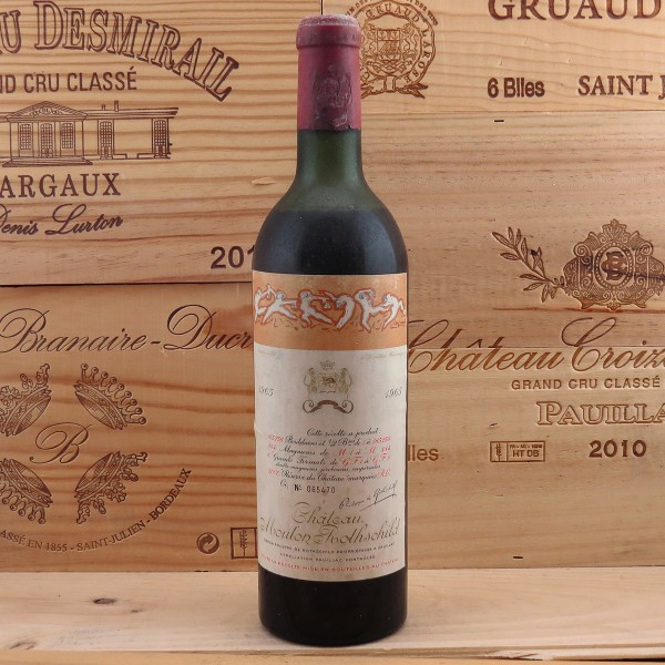 1965 Chateau Mouton Rothschild